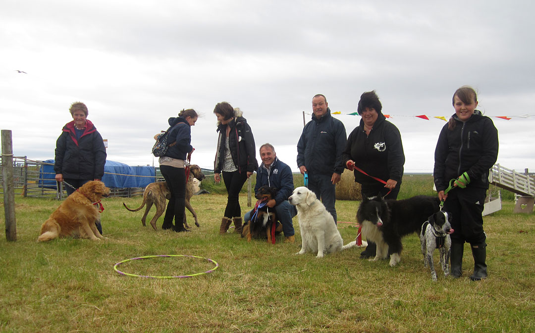 Dog Winners at Tiree Show