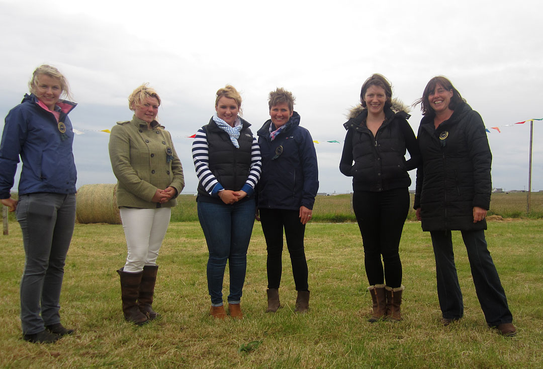 Judges at Tiree Show